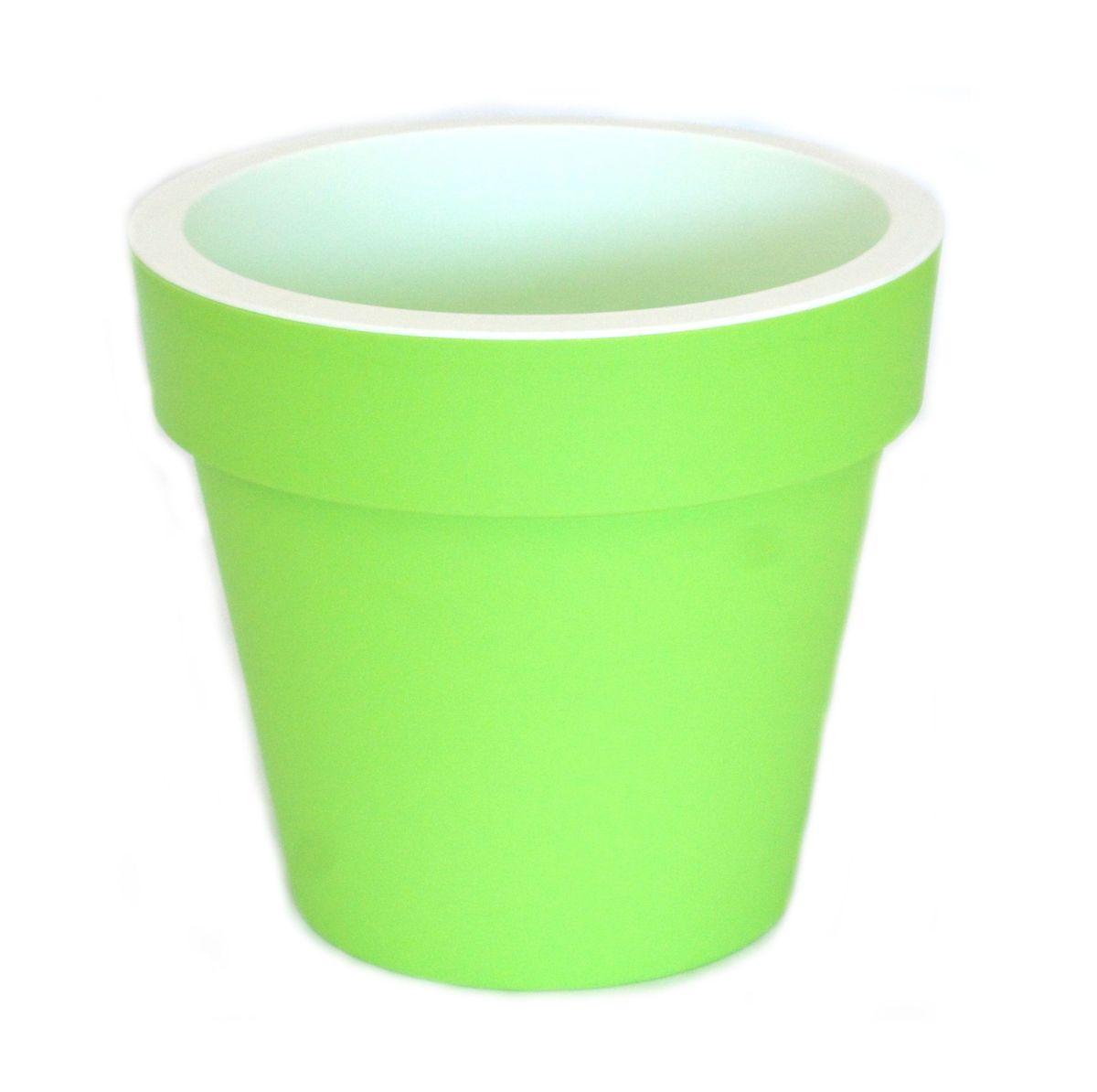 Кашпо JetPlast Порто, со вставкой, цвет: фисташковый, 9 л4612754053056Кашпо Порто классической формы с внутренней вставкой-горшком. Дренажная вставка позволяет легко поливать растения без использования дополнительного поддона. Вместительный объем кашпо позволяет высаживать самые разнообразные растения, а съемная вставка избавит вас от грязи и подчеркнет красоту цветка. Оно изготовлено из прочного полипропилена (пластика). Такое кашпо порадует вас функциональностью, а благодаря лаконичному дизайну впишется в любой интерьер помещения. Объем кашпо: 9 л.