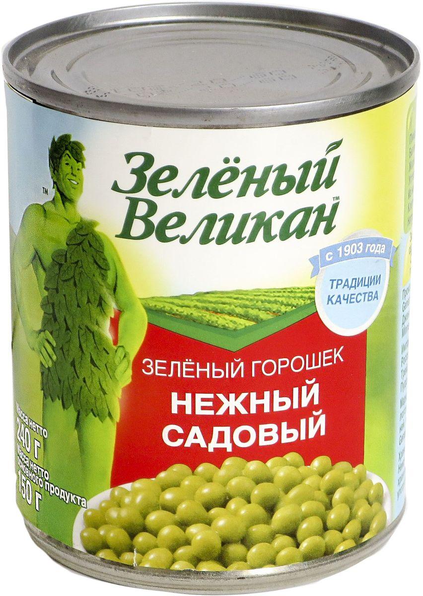 Зеленый великан горошек садовый, 240 г 18111