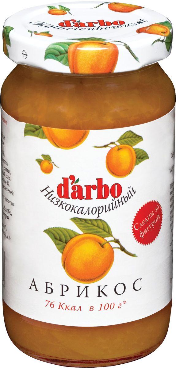 Darbo конфитюр абрикос низкокалорийный, 220 г