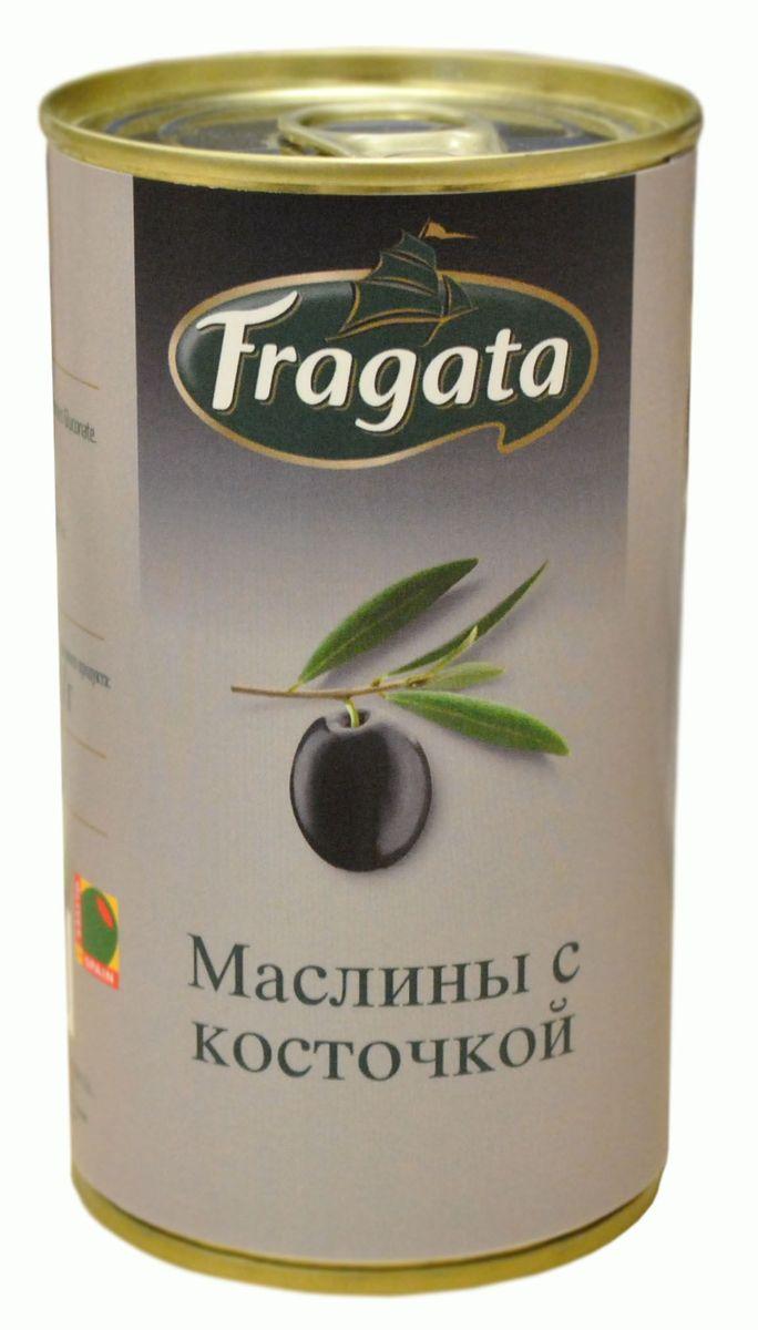 Fragata маслины с косточкой, 350 г34112