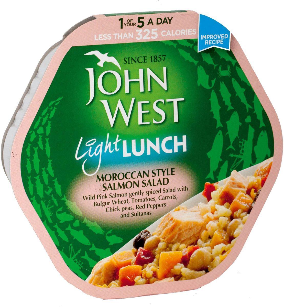 John West легкий обед с лососем марокканский, 220 г64705Легкий и вкусный обед с пониженным содержанием жиров создан без добавления ароматизаторов, синтетических красителей и консервантов.