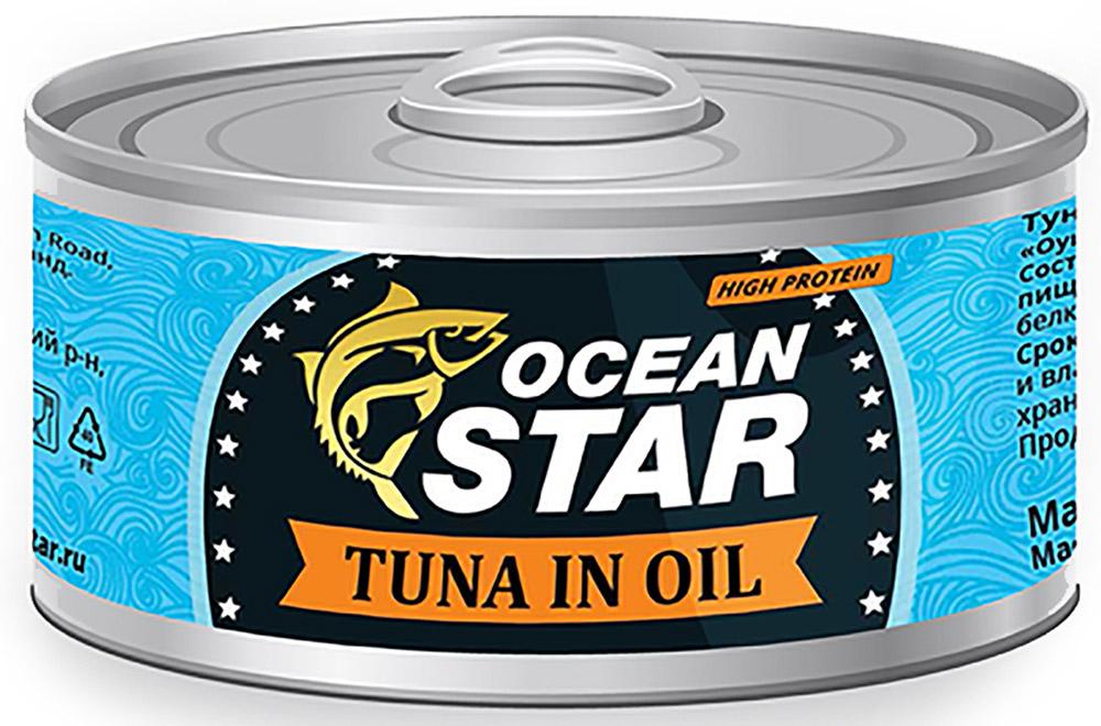 Ocean Star тунец филе в масле, 185 г 0501611071220001