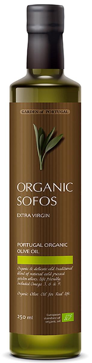 Sofos Organic Extra Virgin масло оливковое нерафинированное, 250 мл (Португалия)