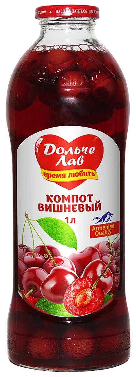 Дольче Лав компот вишневый, 1 л0105112062310005
