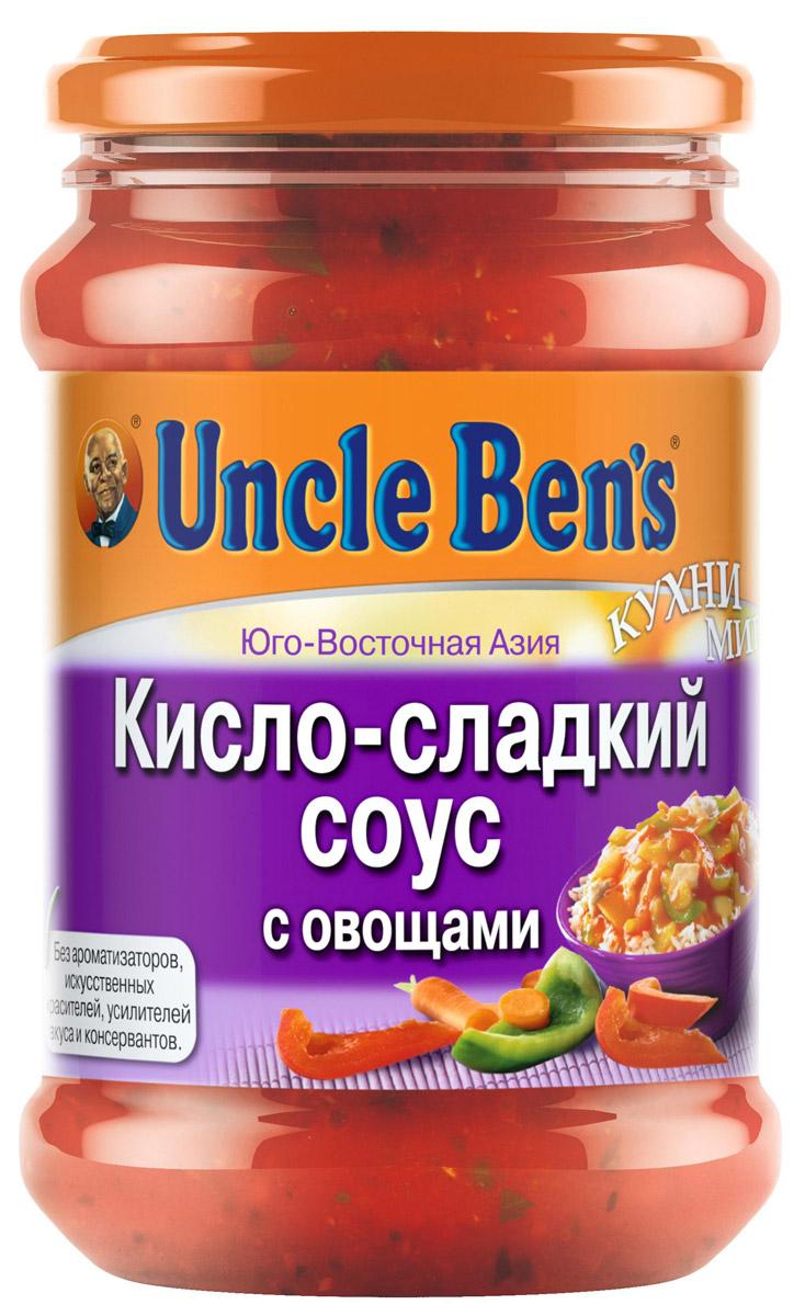 Uncle Bens кисло-сладкий соус с овощами, 350 г10114875/3311м