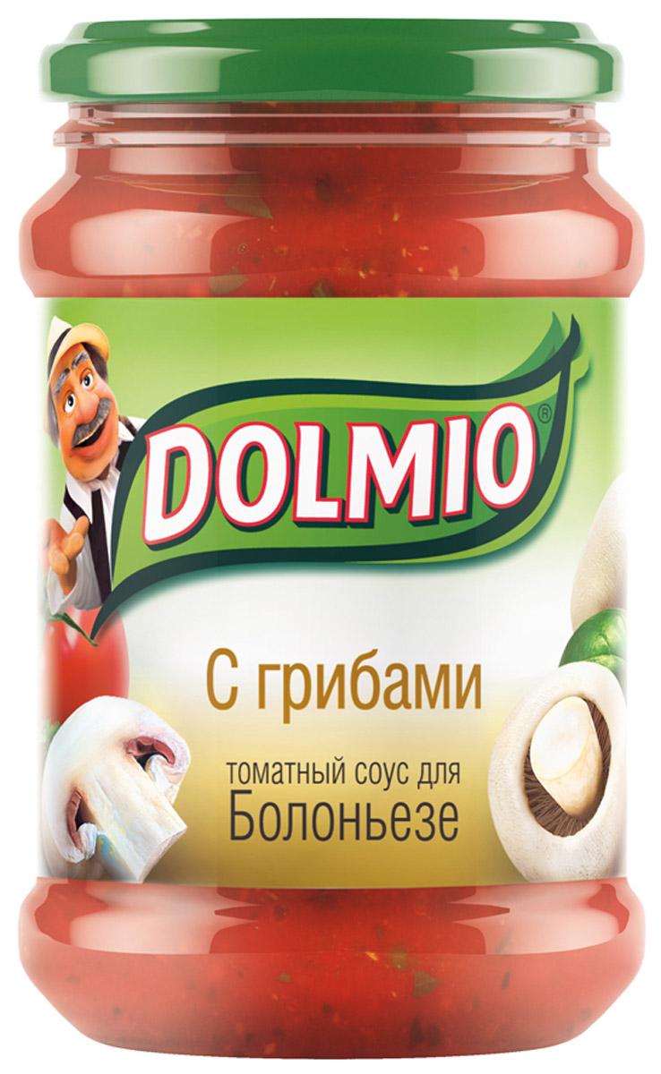 Dolmio с грибами, томатный соус для Болоньезе, 350 г10110142/3292мСпелые томаты, грибы и лук – превосходное сочетание, знакомое многим, кто пробовал итальянскую пиццу. А дополняет вкус трио из специй — орегано, базилик и молотый перец. Все, чтобы знакомые блюда теперь звучали по-новому.