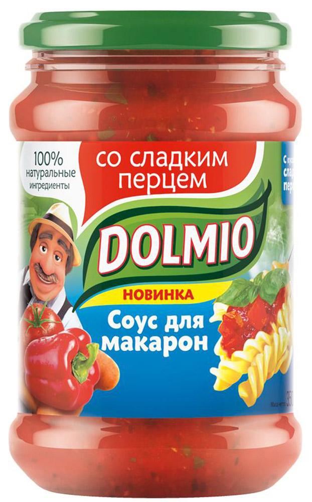 Dolmio со сладким перцем, соус для макарон, 350 г10108048/3289мНет ничего проще, чем превратить любое домашнее блюдо с макаронами в итальянское. Добавь ароматный соус Dolmio уже к отваренным макаронам, и готово. Ломтики сладкого перца, ароматные средиземноморские травы и сочные томаты расскажут об Италии гораздо больше, чем слова.