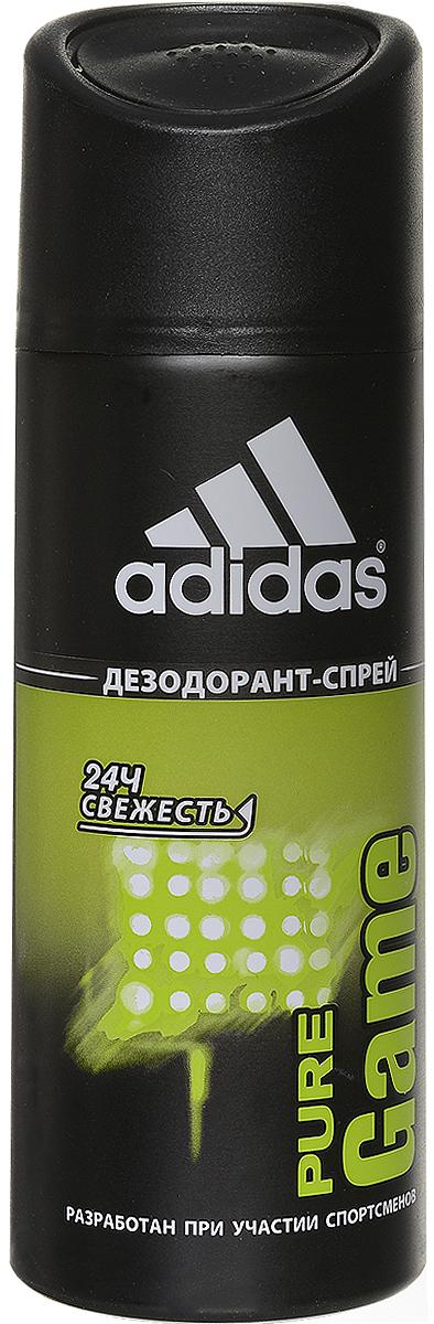 Adidas Pure Game. Дезодорант, 150 мл340009253354Дезодорант Adidas Pure Game подарит чувство свежести на весь день, обеспечит комфорт и длительную защиту от неприятного запаха на 24 часа. Не раздражает кожу, оказывает мягкое антибактериальное действие. Идеально подходит для чувствительной кожи. Характеристики: Объем: 150 мл. Марка Adidas - это олицетворение настоящей страсти к спорту. С момента основания в 1949 г., ее философия никогда не менялась, а поиски к совершенству не заканчивались. Цель - работа с атлетами на всех стадиях соревнований для разработки самого лучшего оборудования, экипировки спортсменов для достижения оптимальных результатов посредством изучения работы человеческого тела. Adidas - это жажда жизни. Три знаменитые полоски вышли за пределы спортивного назначения и вторглись в повседневную жизнь. Линия средств по уходу Adidas давно переняла спортивный опыт компании Adidas, добавив его к мастерству в области личной гигиены ведущей парфюмерно-косметической компании Coty. ...
