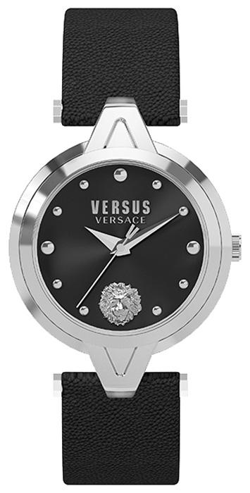 Наручные часы женские Versus Versace, цвет: черный. SCI08 0016SCI08 0016Двухстрелочный механизм Citizen 2025, Корпус из нержавеющей стали, Размер корпуса: O30 мм, Минеральное стекло, Циферблат черного цвета, Ремень из натуральной кожи, Водозащита 3 ATM