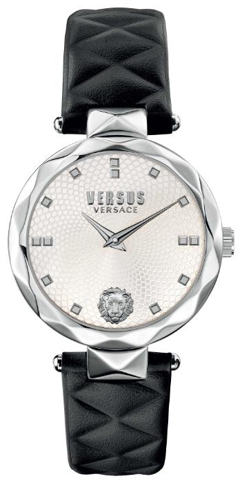 Наручные часы женские Versus Versace, цвет: черный, белый. SCD01 0016SCD01 0016Мех: Citizen 2025, 2-стрелочный кварц. Корпус: 34мм, нержавеющая сталь. Циферблат: цвет серебристый, гильоше, голова льва на 18ч, безель с текстурным декором.Ремешок: натуральная кожа черного цвета. WR: 3 ATM