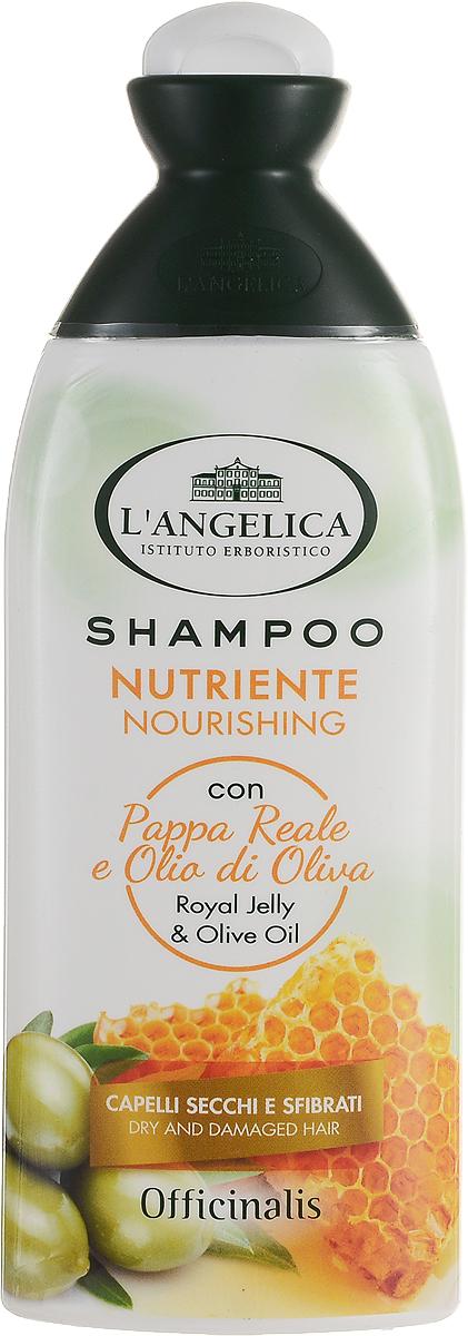 Langelica (0898) Шампунь питательный для сухих волос, 250 мл535-3-09802LANGELICA OFFICINALIS. Питательный шампунь для сухих и поврежденных волос с маточным молочком и оливковым маслом.Институт Erboristico LAngelica разработал новую лечебную линию натуральных продуктов по уходу за волосами. Лечебные шампуни обогащены экстрактами средиземноморских трав.Лечебный питательный шампунь особенно эффективен для хрупких и поврежденных волос, благодаря питательным и экстра увлажняющим свойствам маточного молочка и оливкового масла.Обеспечивает защитное и восстанавливающее действие для регенерации,блеска и питания волос.