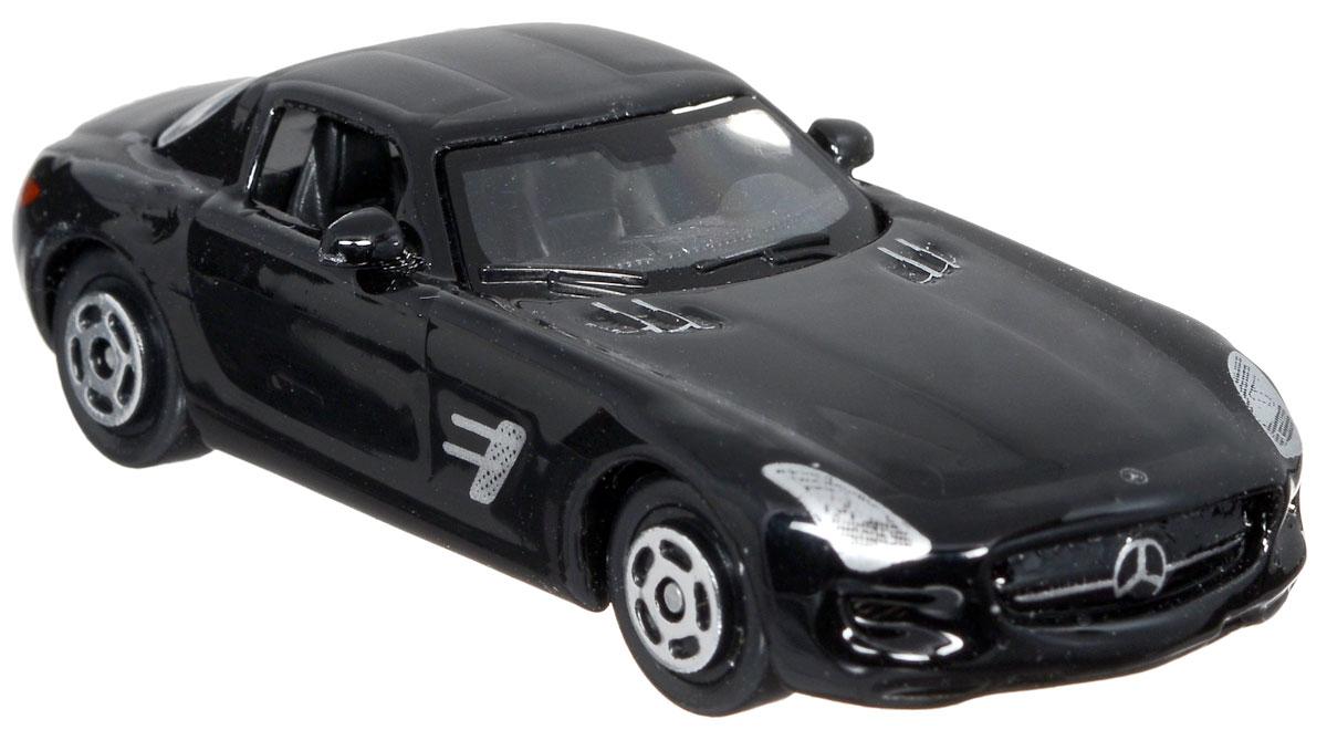 ТехноПарк Модель автомобиля Mercedes-Benz SLS AMG цвет черныйDISPLAY MIX_черный Mercedes-Benz SLS AMGМодель автомобиля ТехноПарк Mercedes-Benz SLS AMG - это миниатюрная копия настоящей машины. Выполненная из высококачественных материалов, она обязательно понравится не только ребенку, но и взрослому. Игрушечная модель оснащена металлическим корпусом и подвижными колесами. Машинка является отличным подарком для юного гонщика. Во время игры с такой машинкой у ребенка развиваются мелкая моторика рук, фантазия и воображение.