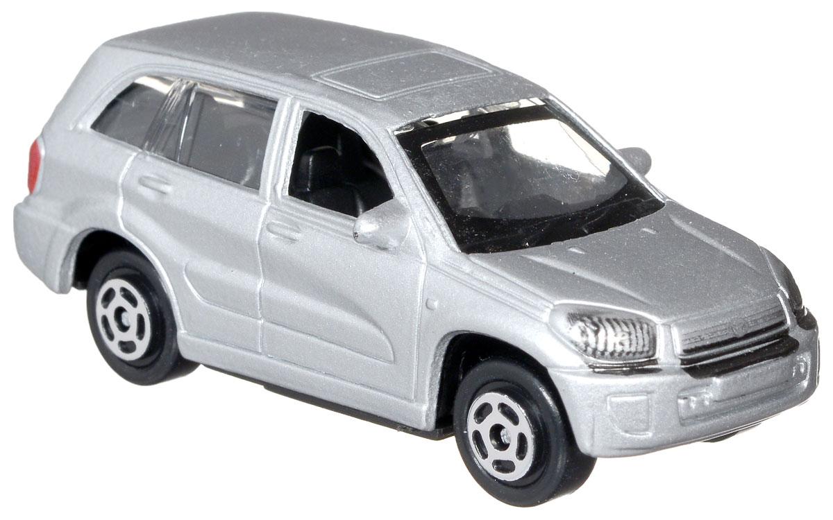 ТехноПарк Модель автомобиля Toyota RAV4 цвет серебристыйDISPLAY MIX_серебристый Toyota RAV4Модель автомобиля ТехноПарк Toyota RAV4 - это миниатюрная копия настоящей машины. Выполненная из высококачественных материалов, она обязательно понравится не только ребенку, но и взрослому. Игрушечная модель оснащена металлическим корпусом и подвижными колесами. Машинка является отличным подарком для юного гонщика. Во время игры с такой машинкой у ребенка развиваются мелкая моторика рук, фантазия и воображение.