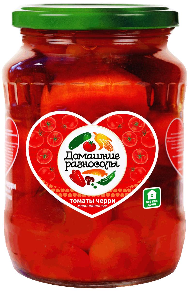 Домашние разносолы томаты черри, 370 мл