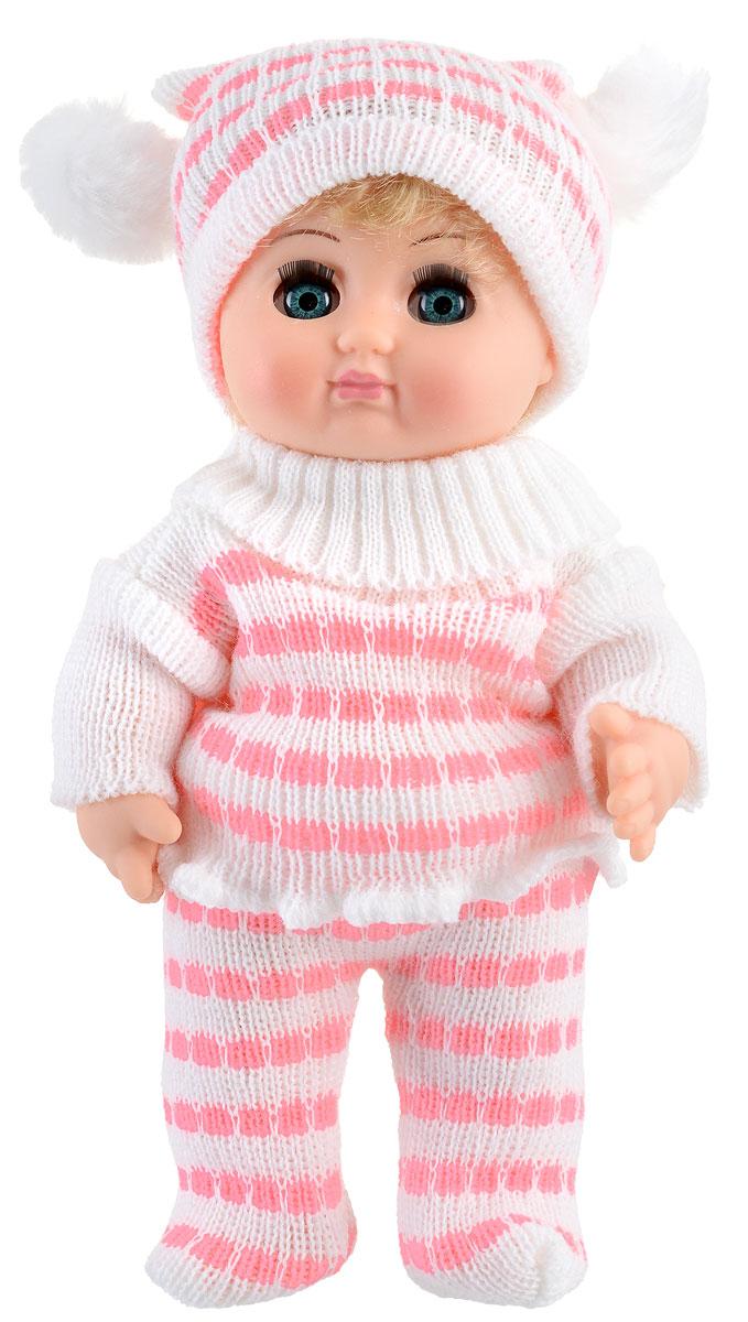 Весна Кукла ЛюбочкаВ210Очаровательная кукла Весна Любочка покорит сердце любой девочки! Обаятельный внешний вид и прелестная одежда игрушечной красавицы вызывают только самые добрые и положительные эмоции. Кукла отличается высоким качеством, проработанностью деталей и гармоничными пропорциями тела. У куклы густые мягкие волосы, которые можно мыть и расчесывать. Они прочно закреплены и способны выдержать практически любые творческие порывы ребенка. Особый восторг у маленьких модниц вызовет нарядный костюмчик и шапочка на голове, которые можно снимать и менять. Игра с очаровательной куклой поможет развить мелкую моторику, а возможность менять костюмчики и прически формирует эстетический вкус. Милая игрушка станет лучшей подружкой для девочки и научит ребенка доброте и заботе о других.