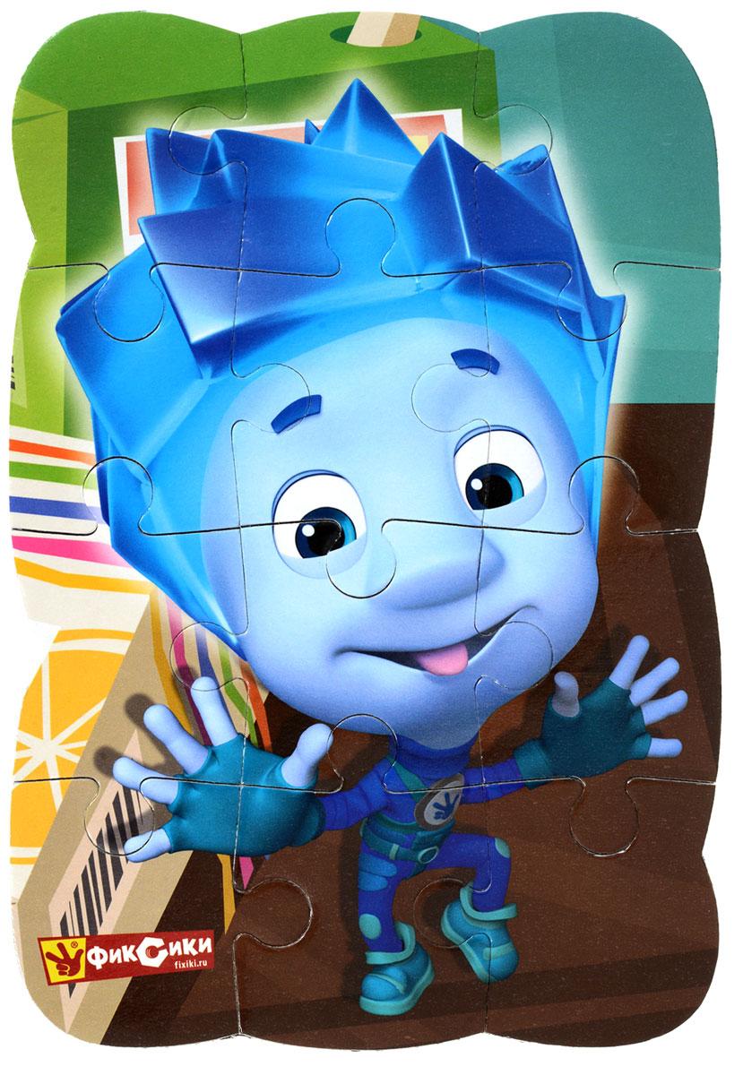 Vladi Toys Пазл для малышей Фиксики Нолик VT3205-37VT3205-37Пазл для малышей Vladi Toys Фиксики. Нолик придется по душе вашему малышу. Собрав этот пазл, состоящий из 12 элементов, вы получите картинку с изображением персонажа мультфильма Фиксики - Нолика. Пазл можно собирать на любой вертикальной магнитной поверхности. Пазл - великолепная игра для семейного досуга. Сегодня собирание пазлов стало особенно популярным, главным образом, благодаря своей многообразной тематике, способной удовлетворить самый взыскательный вкус. Для детей это не только интересно, но и полезно. Собирание пазла развивает мелкую моторику ребенка, тренирует наблюдательность, логическое мышление, знакомит с окружающим миром, с цветом и разнообразными формами.