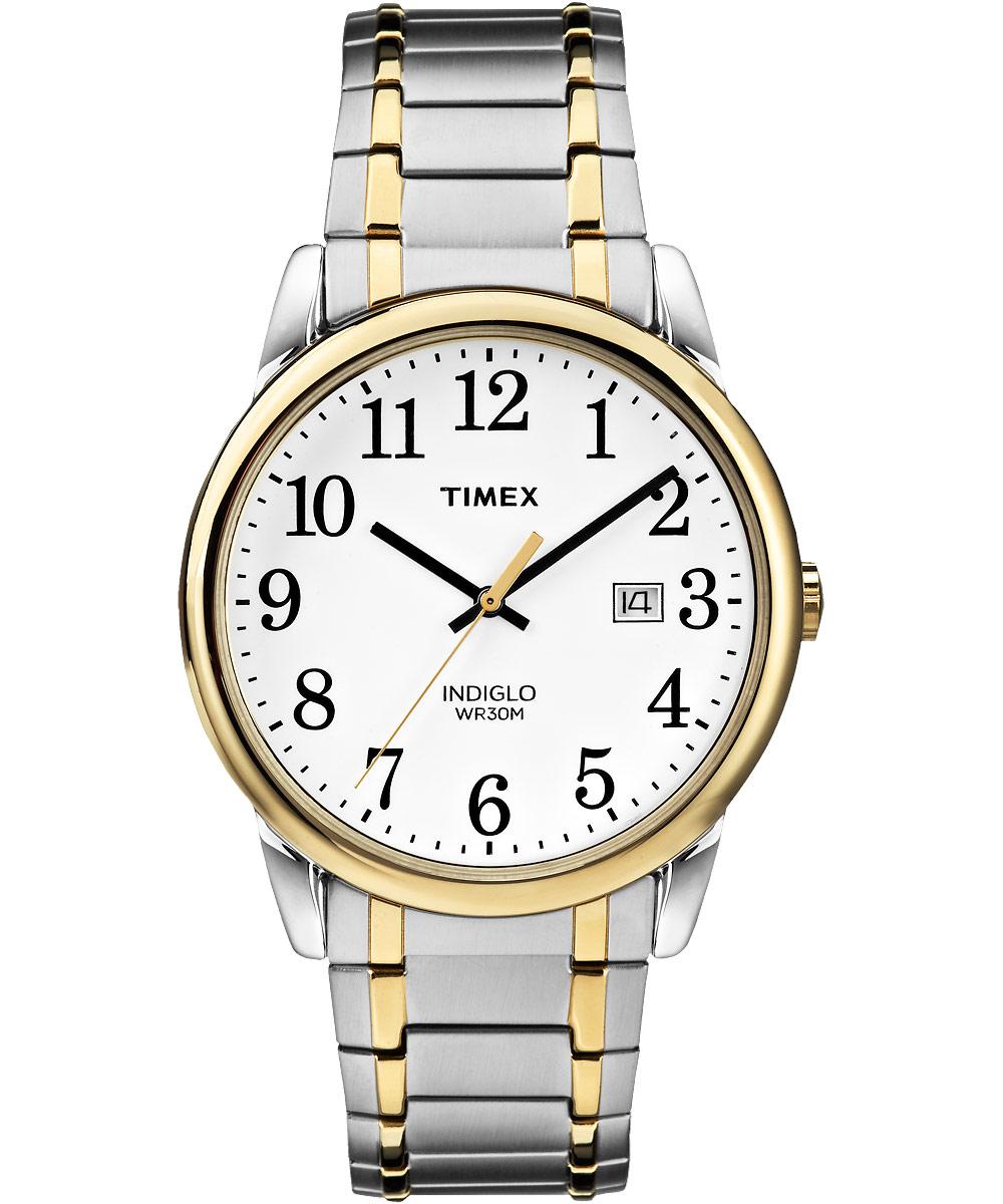 Наручные часы мужские Timex, цвет: серебряный. TW2P81400TW2P81400Корпус 38мм, четкий циферблат белого цвета, минеральное стекло, браслет из нержавеющей стали с покрытием биколор, водозащита 3АТМ, подсветка INDIGLO