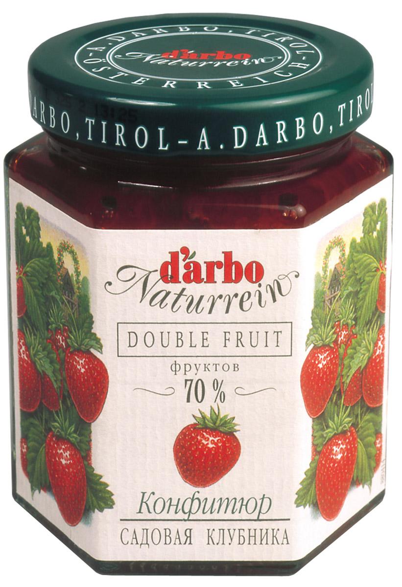 Darbo конфитюр садовая клубника, 200 г
