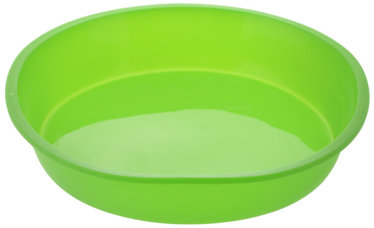 Форма для выпечки Paterra Круг, силиконовая, цвет: зеленый, диаметр 21 см402-439_зеленыйФорма для выпечки Paterra Круг изготовлена из высококачественного силикона. Стенки формы легко гнутся, что позволяет легко достать готовую выпечку и сохранить аккуратный внешний вид блюда. Силикон - материал, который выдерживает температуру от - 40°С до +250°С. Изделия из силикона очень удобны в использовании: пища в них не пригорает и не прилипает к стенкам, форма легко моется. Приготовленное блюдо можно очень просто вытащить, просто перевернув форму, при этом внешний вид блюда не нарушится. Изделие обладает эластичными свойствами: складывается без изломов, восстанавливает свою первоначальную форму. Порадуйте своих родных и близких любимой выпечкой в необычном исполнении. Диаметр формы: 21 см. Высота стенки: 4 см.