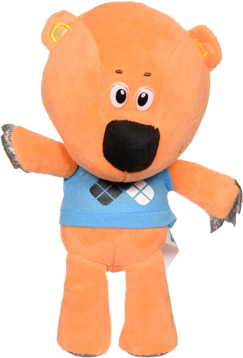 Мульти-Пульти Мягкая озвученная игрушка Медвежонок Кешка 20 смV62075/20Мягкая игрушка Мульти-Пульти Медвежонок Кешка выглядит очень весело и задорно. Необычный яркий окрас игрушки и синяя футболка делают медвежонка привлекательным и оригинальным. У него забавная мордочка, а на лапах имеются коготки. Мягкие игрушки помогают познавать окружающий мир через тактильные ощущения, знакомят с животным миром нашей планеты, формируют цветовосприятие и способствуют концентрации внимания. Игрушка работает от незаменяемых батареек.