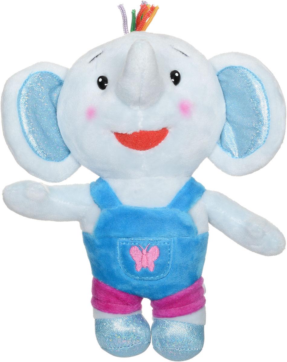 Мульти-Пульти Мягкая озвученная игрушка Слоненок Тома 20 смV39269/20Замечательная позитивная игрушка Мульти-Пульти Слоненок Тома обладает звуковыми эффектами, что, несомненно, вызовет у ребенка интерес к общению. Слоненок имеет небольшой вес и компактный размер. Мягкие игрушки помогают познавать окружающий мир через тактильные ощущения, знакомят с животным миром нашей планеты, формируют цветовосприятие и способствуют концентрации внимания. Игрушка работает от незаменяемых батареек.