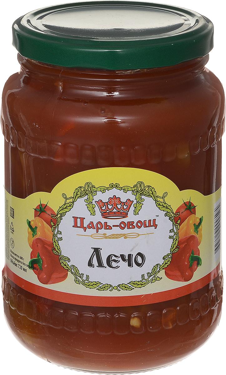 Царь-овощ Лечо натуральное, 680 г1658Лечо Царь-овощ, которое легко поборется за звание самого вкусного: сочный, хрустящий сладкий перец в густом, натуральном кисло-сладком томатном соусе - традиционный богатый вкус и совершенно без консервантов и ароматизаторов.
