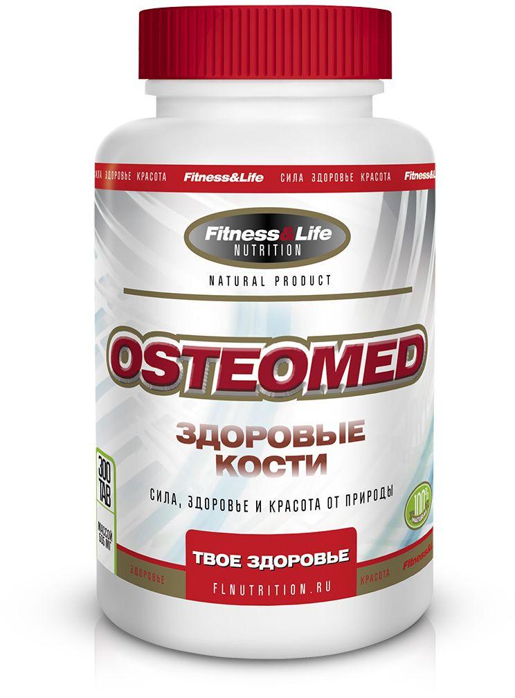 """Пищевая добавка Fitness&Life """"Osteomed"""", 300 таблеток, 300 таблеток"""