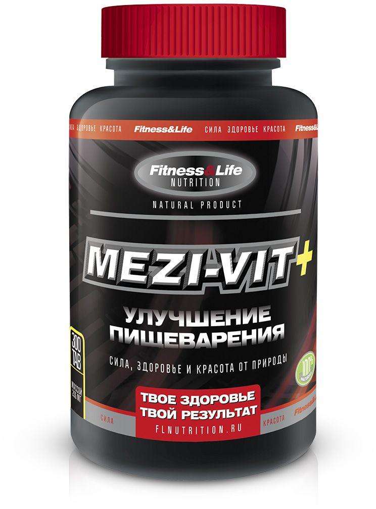 """Пищевая добавка Fitness&Life """"Mezi-Vit+"""", 300 таблеток, 300 таблеток 4605920001289"""
