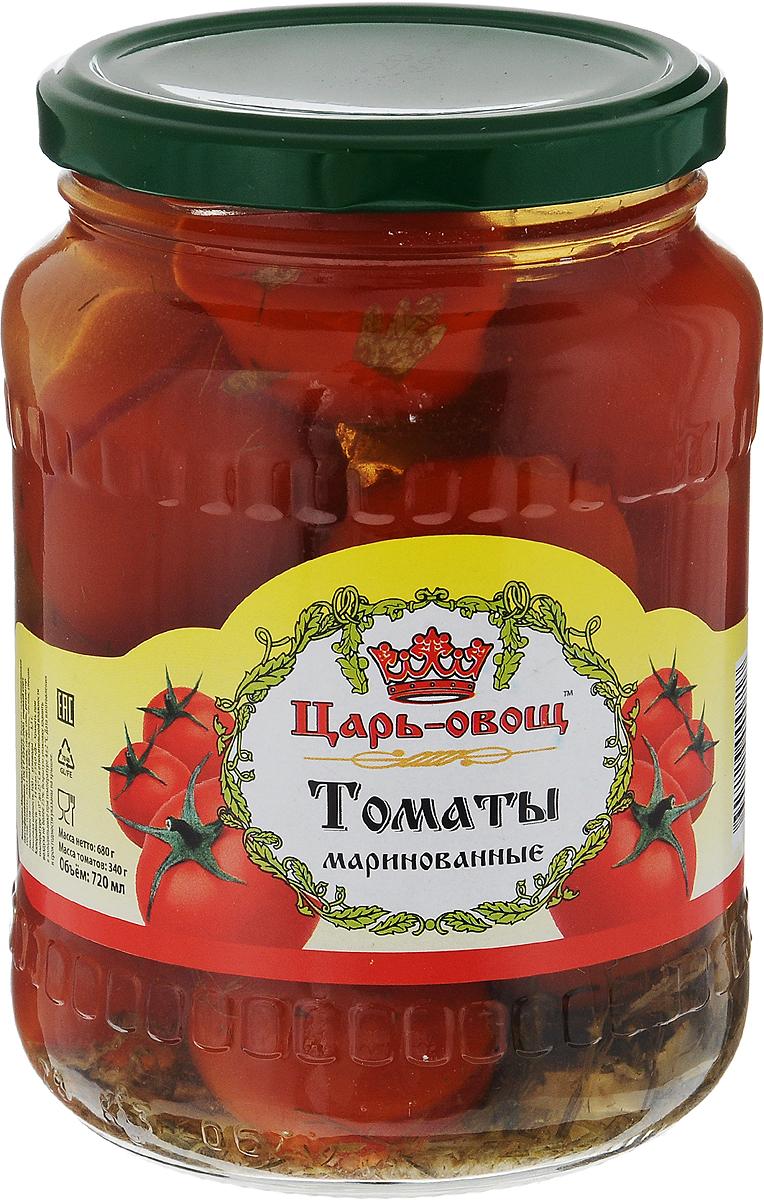 Царь-овощ Томаты маринованные, 680 г1660Вкуснейшие томаты от Царь-овощ. Можно использовать как самостоятельную закуску. Масса томатов: 340 г