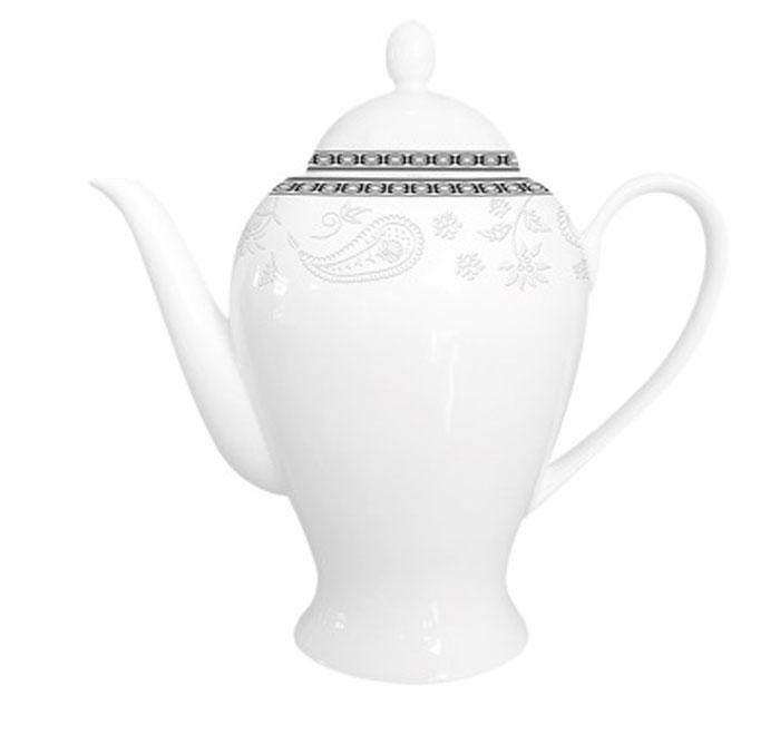 Чайник заварочный Esprado Arista White, 920 млARWL92WE306Заварочный чайник 920 мл из костяного фарфора. Упаковка: наклейка «Заварочный чайник 920 мл из костяного фарфора», штрих-код на дне. На дне изделия штамп: «Esprado Fine Bone Сhina» со знаками «использование в посудомоечной машине разрешено» и «использование в микроволновой печи разрешено». Внутренняя упаковка: подарочная цветная коробка, 1 штука в упаковке. Деколь как на эталонном образце.