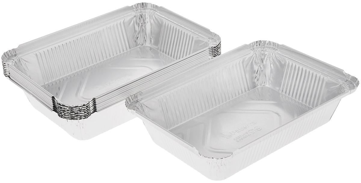 Форма для выпечки Paterra, прямоугольная, 22 х 15 х 5 см, 10 шт402-561Формы для выпечки Paterra изготовлены из алюминия. Пища в таких формах не пригорает и не прилипает к стенкам, готовое блюдо легко вынимается. Изделия прекрасно подойдут для выпечки и запекания, а также для замораживания. Такие формы станут полезным приобретением для вашей кухни. Формы выдерживают любые температурные режимы духовых шкафов. Внутренний размер формы: 22 х 15 см. Высота стенки: 5 см.