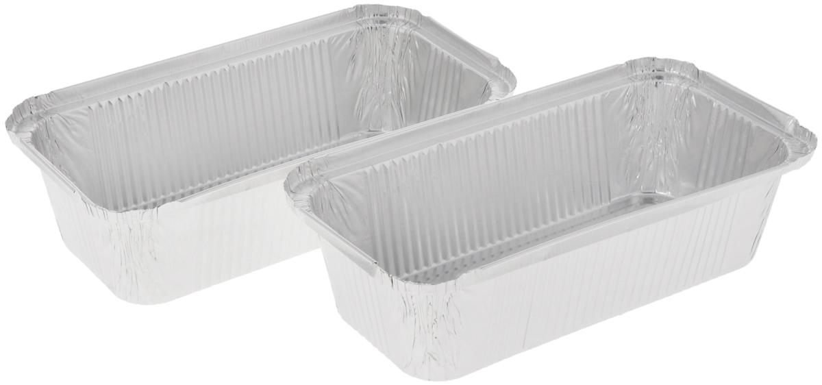 Форма для выпечки Paterra, прямоугольная, 22 х 11 х 6 см, 2 шт402-423Формы для выпечки Paterra изготовлены из алюминия. Пища в таких формах не пригорает и не прилипает к стенкам, готовое блюдо легко вынимается. Изделия прекрасно подойдут для выпечки и запекания, а также для замораживания. Такие формы станут полезным приобретением для вашей кухни. Формы выдерживают любые температурные режимы духовых шкафов. Внутренний размер формы: 22 х 11 см. Высота стенки: 6 см.
