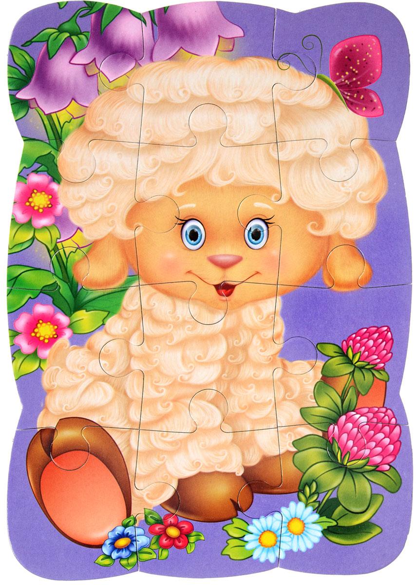 Vladi Toys Пазл для малышей ОвечкаVT3205-32Пазл для малышей Vladi Toys Овечка придется по душе вашему малышу. Собрав этот пазл, состоящий из 12 элементов, вы получите картинку с изображением улыбающейся овечки. Пазл можно собирать на любой вертикальной магнитной поверхности. Пазл - великолепная игра для семейного досуга. Сегодня собирание пазлов стало особенно популярным, главным образом, благодаря своей многообразной тематике, способной удовлетворить самый взыскательный вкус. Для детей это не только интересно, но и полезно. Собирание пазла развивает мелкую моторику ребенка, тренирует наблюдательность, логическое мышление, знакомит с окружающим миром, с цветом и разнообразными формами.