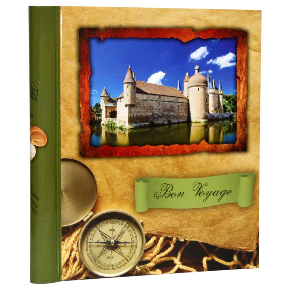Фотоальбом Pioneer Bon Voyage, 10 магнитных листов, цвет: зеленый, 23 х 28 см46213 AP102328SAАльбом для фотографий формата 23х28 см. Тип обложки: ламинированный картон. Тип листов: магнитные. Тип переплета: спираль. Кол-во листов: 10. Материалы, использованные в изготовлении альбома, обеспечивают высокое качество хранения Ваших фотографий, поэтому фотографии не желтеют со временем.