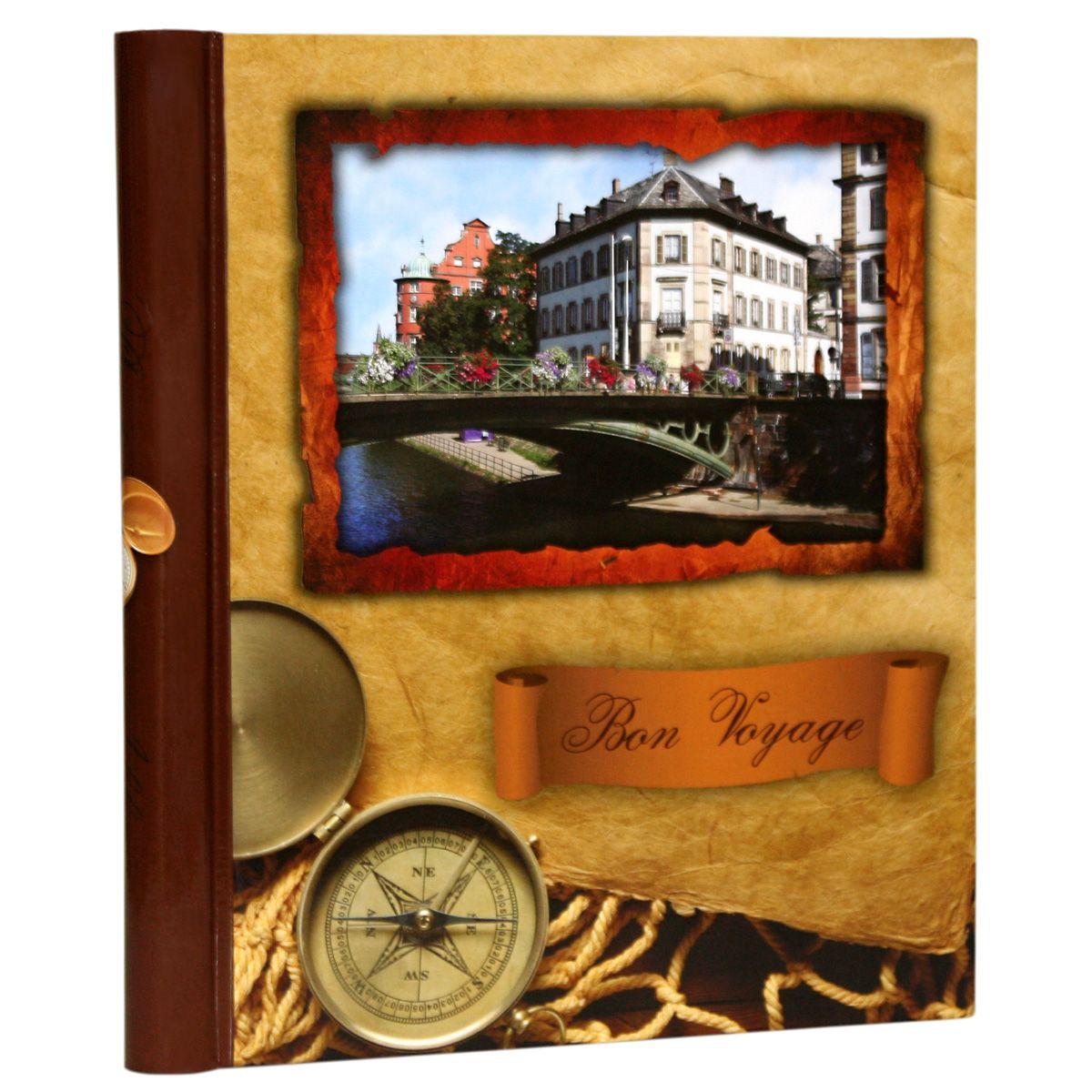 Фотоальбом Pioneer Bon Voyage, 10 магнитных листов, цвет: коричневый, 23 х 28 см46214 AP102328SAАльбом для фотографий формата 23х28 см. Тип обложки: ламинированный картон. Тип листов: магнитные. Тип переплета: спираль. Кол-во листов: 10. Материалы, использованные в изготовлении альбома, обеспечивают высокое качество хранения Ваших фотографий, поэтому фотографии не желтеют со временем.