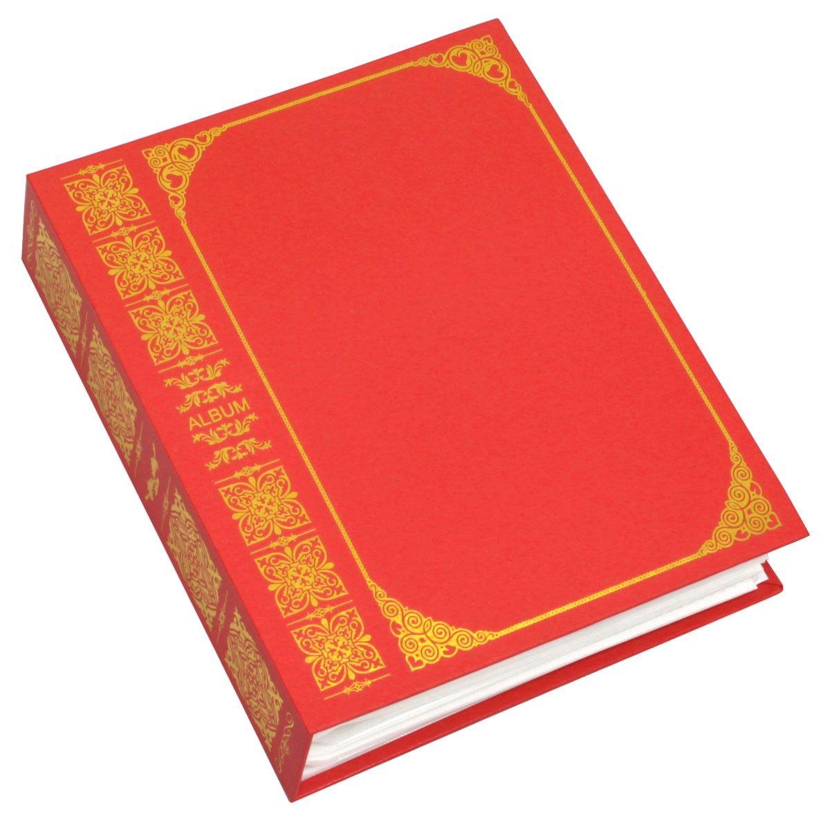 Фотоальбом Pioneer Royal Vinyl, 100 фотографий, цвет: красный, 15 х 21 см46445 AV68100Альбом для фотографий формата 15х21 см. Тип листов: полипропиленовые. Тип переплета: высокочастотная сварка. Кол-во фотографий: 100. Материалы, использованные в изготовлении альбома, обеспечивают высокое качество хранения Ваших фотографий, поэтому фотографии не желтеют со временем.