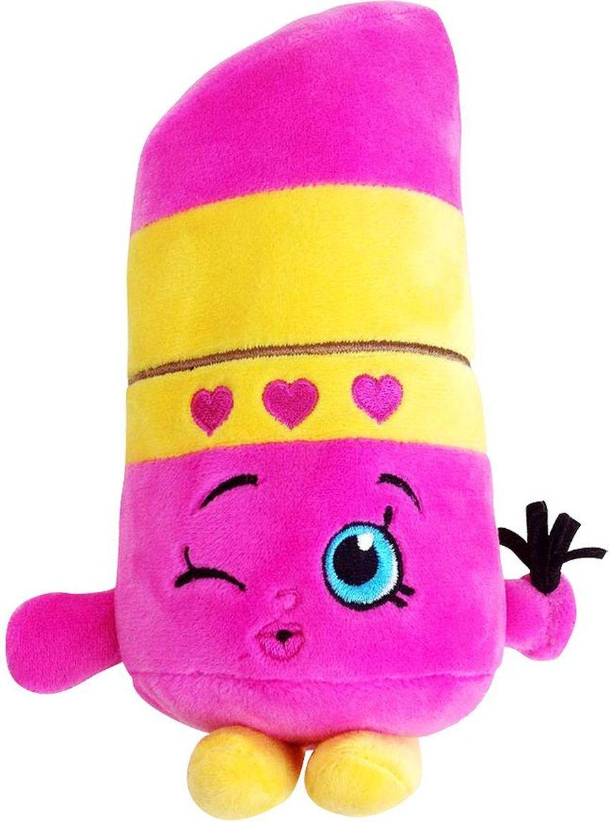 Shopkins Мягкая игрушка Помадка Липпи31635Помадка Липпи желает подружиться с вашей малышкой, чтобы вместе весело играть, развивая у крохи воображение, речь, тактильное восприятие и многое другое. Компактная игрушка в виде героини мультфильма Шопкинс легко помещается в сумочку или рюкзачок, поэтому ее удобно брать с собой в гости или в садик. Соберите всю коллекцию плюшевых игрушек Шопкинс, чтобы детские игры стали увлекательнее и разнообразнее! Мягкая игрушка Помадка Липпи ТМ Шопкинс высотой 20 см выполнена из нежного, приятного на ощупь плюша, плотно набита и декорирована высококачественной вышивкой. Товар сертифицирован. Упаковка - пакет.