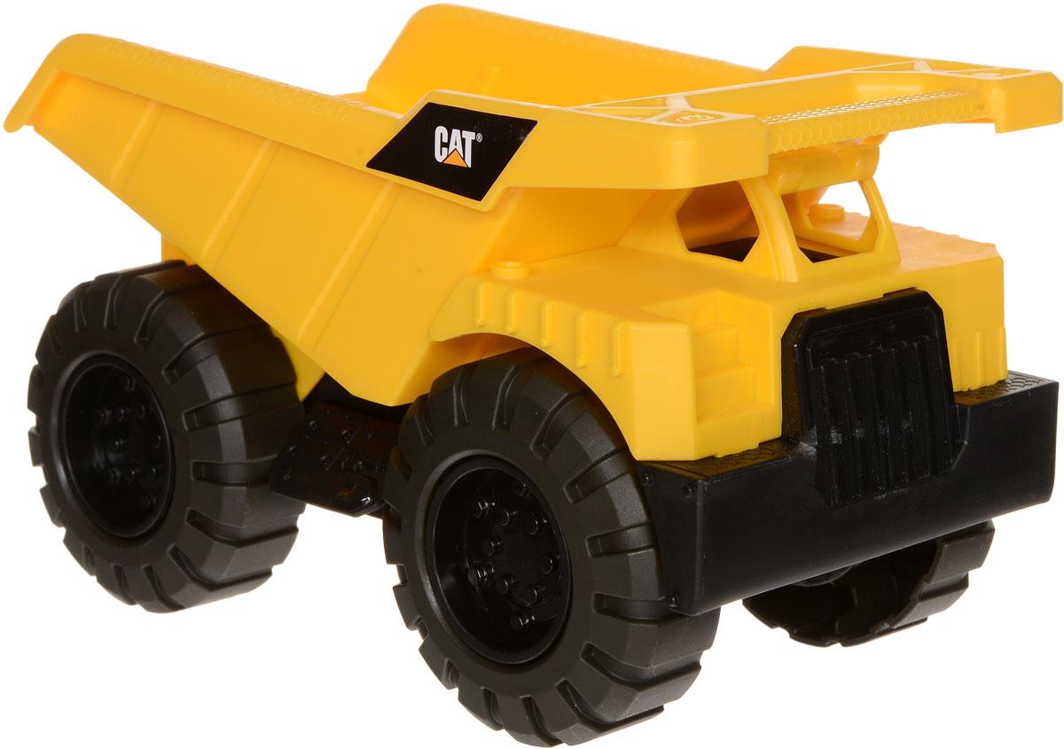 Toystate Самосвал Cat 82010TS82010TS_жёлтый/камаз/2Самосвал Toystate Cat обязательно привлечет внимание вашего ребенка. Игрушка выполнена из прочного пластика, оснащена подвижными колесами и поднимающимся кузовом. В процессе игры с машинкой ребенок развивает не только мелкую моторику рук, но и образное мышление, придумывая героев и обстоятельства для сюжета игры. Малыш проведет с этой игрушкой много увлекательных часов, воспроизводя свою стройку. Ваш ребенок будет в восторге от такого подарка!
