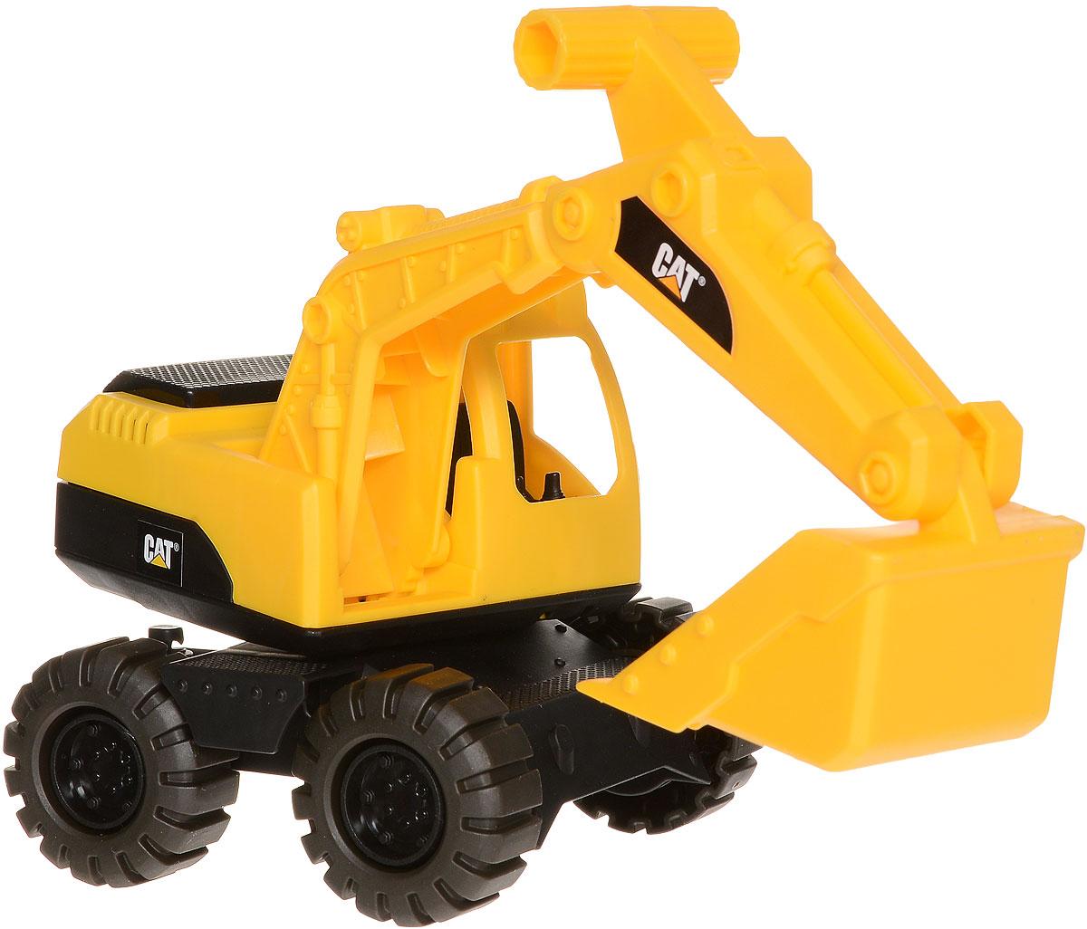 Toystate Экскаватор Cat 82010TS82010TS_желтыйЭкскаватор Toystate Cat обязательно привлечет внимание вашего ребенка. Игрушка выполнена из прочного пластика, оснащена подвижными колесами, поворотной кабиной и поднимающейся стрелой. В процессе игры с машинкой ребенок развивает не только мелкую моторику рук, но и образное мышление, придумывая героев и обстоятельства для сюжета игры. Малыш проведет с этой игрушкой много увлекательных часов, воспроизводя свою стройку. Ваш ребенок будет в восторге от такого подарка!