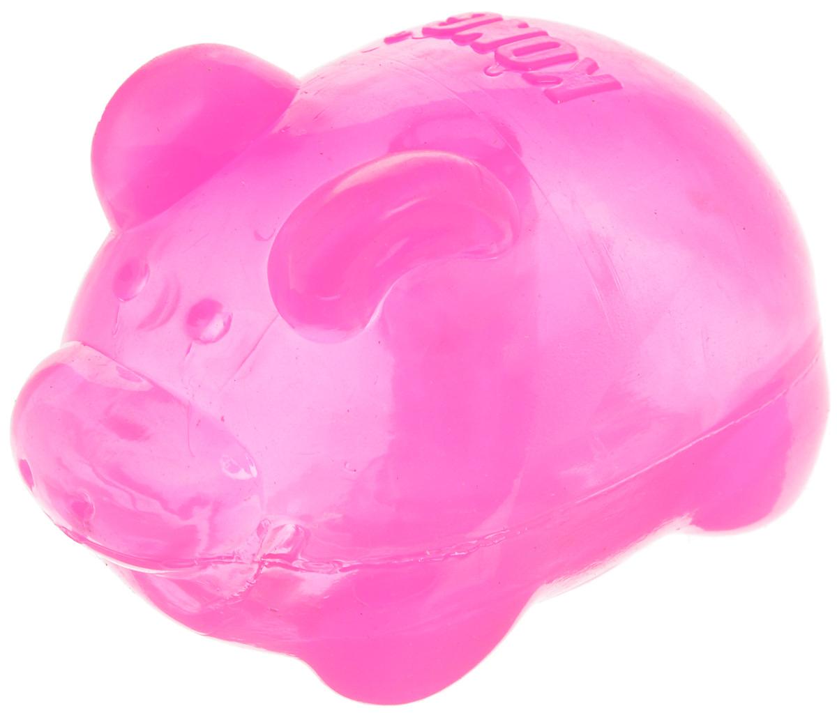 Игрушка для собак Kong . Свинья, средняя, с пищалкой, цвет: розовый, высота 7 смPSJ2AE_РозовыйИгрушка Kong Свинья, выполненная из прочной синтетической резины, оснащена пищалкой. Изделие станет идеальным решением для четвероногих обладателей крепких зубов и мощных челюстей. Игрушка Kong Свинья не тонет в воде и отлично подойдет для активной игры. Размеры игрушки: 7 х 4,5 х 4,5 см.