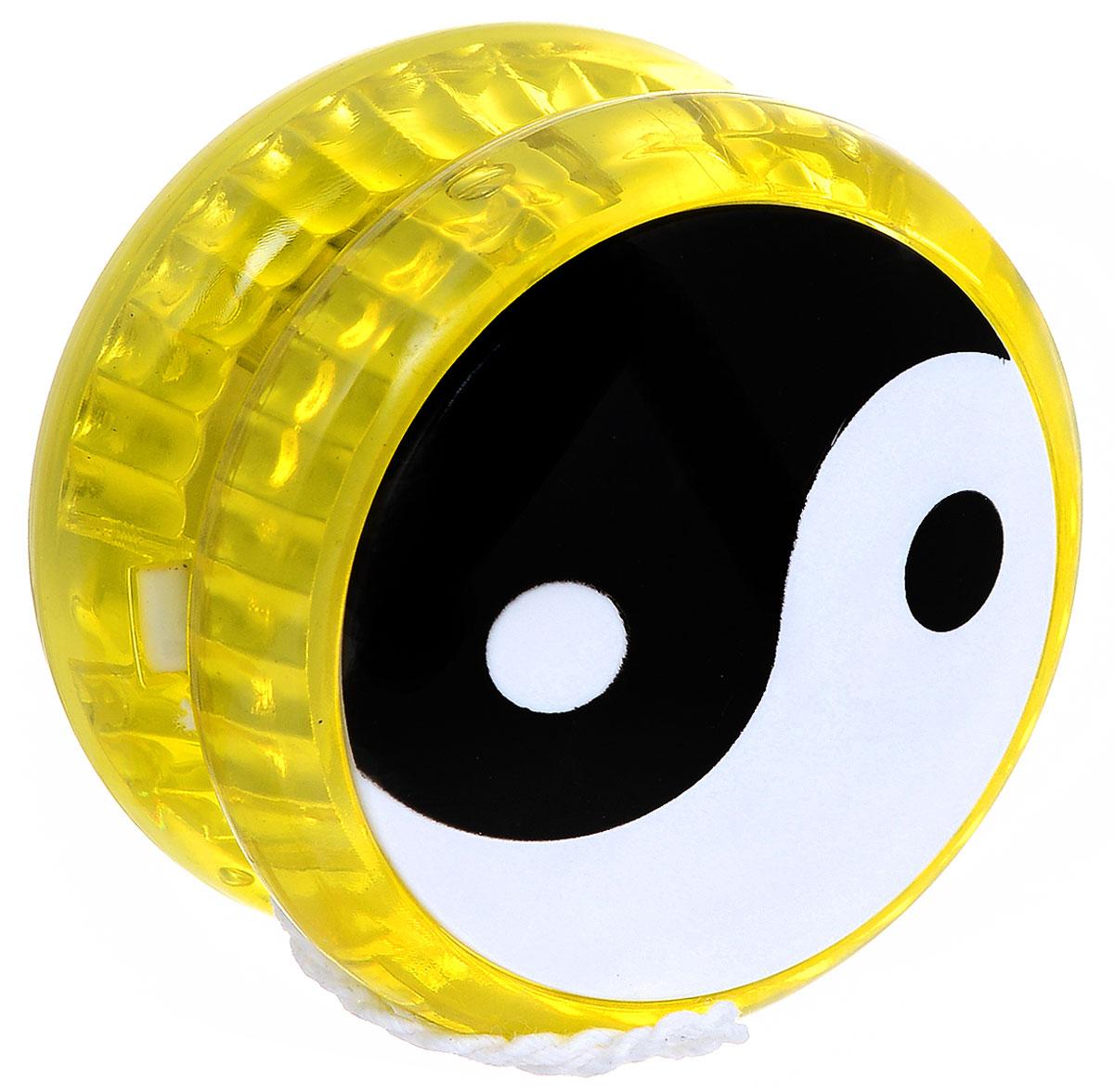 Эврика Йо-йо Инь-Ян цвет желтый