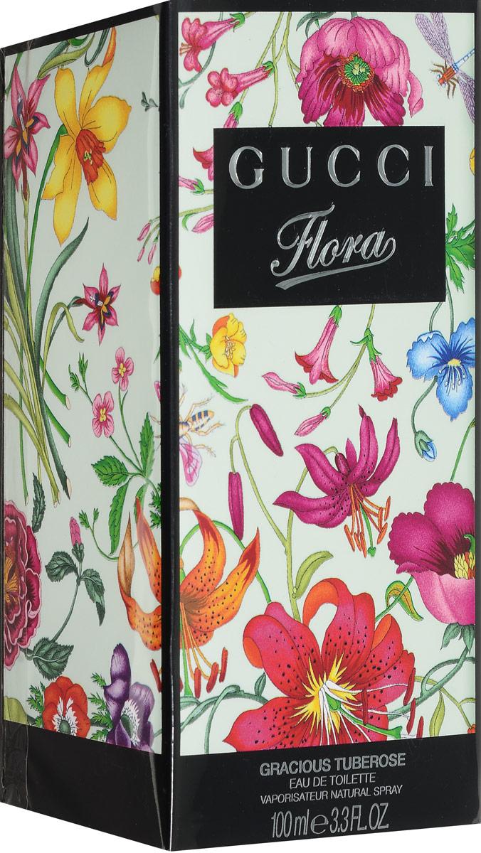 Gucci Туалетная вода Flora Gracious Tuberose, 100 мл0737052522661В Gucci Flora Gracious Tuberose вошли пять ароматов цветущего сада, основой каждого стали цветы - гардения, магнолия, тубероза, фиалка, мандарин. Согласно задумке парфюмера, все пять запахов сможет носить одна женщина, в зависимости от настроения или случая. Соблазнительный и легкий аромат Flora Gracious Tuberose соединил запах туберозы, цитрусовых и листьев фиалки. Классификация аромата : цветочный. Пирамида аромата : Верхние ноты: персик, лист фиалки. Ноты сердца: апельсиновый цвет, мексиканская тубероза, роза. Ноты шлейфа: лаванда, белый кедр. Ключевые слова : Женственный, соблазнительный, чувственный, легкий! Туалетная вода - один из самых популярных видов парфюмерной продукции. Туалетная вода содержит 4-10% парфюмерного экстракта. Главные достоинства данного типа продукции заключаются в доступной цене, разнообразии форматов (как...