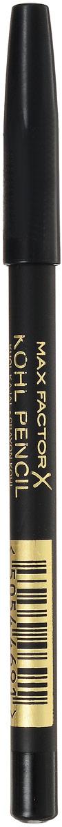 Карандаш для глаз Max Factor, тон №020, цвет: черный81480569Мягкий карандаш для глаз Max Factor можно использовать как для наружного, так и для внутреннего века, а также как подводку для глаз или тени (если растушевать аппликатором). Подходит для чувствительных глаз.