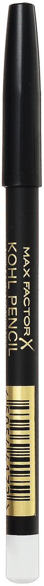 Max Factor Карандаш для глаз Kohl Pencil, тон №010 White, цвет: белый81480564Карандаш Kohl Pencil – ваше секретное оружие для создания сексуального, выразительного взгляда! Он подчеркнет разрез глаз и добавит к вашему макияжу цветовой акцент. Этот карандаш идеально подходит как для дневного так и для вечернего макияжа. Товар сертифицирован.