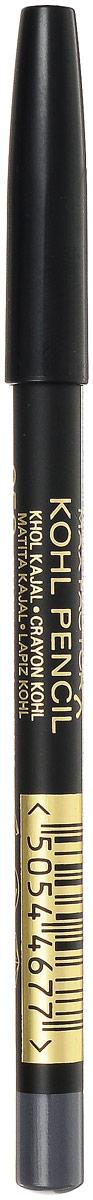 Max Factor Карандаш для глаз Kohl Pencil, тон №050 Charcoal grey, цвет: темно-серый81480584Карандаш Kohl Pencil – ваше секретное оружие для создания сексуального, выразительного взгляда! Он подчеркнет разрез глаз и добавит к вашему макияжу цветовой акцент. Этот карандаш идеально подходит как для дневного так и для вечернего макияжа. Товар сертифицирован.
