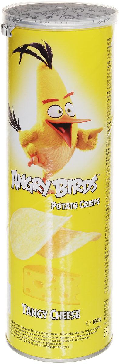 Angry Birds чипсы со вкусом сыра, 160 г7640110242025Хрустящая картофельная закуска с настоящей морской солью и ярким вкусом сливочного сыра! Возьмите с собой на пикник, в дорогу или в кинотеатр! Благодаря удобной тубе они не сломаются. Рекомендуется подавать с сырными и чесночными соусами. Уважаемые клиенты! Обращаем ваше внимание, что полный перечень состава продукта представлен на дополнительном изображении.