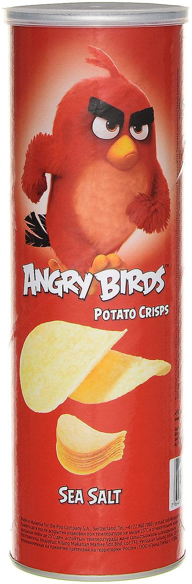 Angry Birds чипсы с морской солью, 160 г