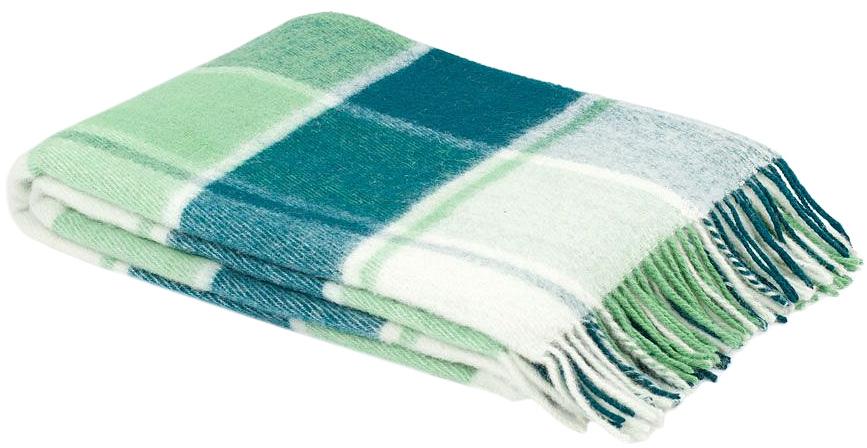 Плед Пиросмани, цвет: зеленый, белый, 170 х 200 см. 1-207-170_041-207-170_04Мягкий и приятный плед Пиросмани изготовлен из 100% новозеландской овечьей шерсти. Плед добавит комнате уюта и согреет в прохладные дни. Такое теплое украшение может стать отличным подарком друзьям и близким! Под шерстяным пледом вам никогда не станет жарко или холодно, он помогает поддерживать постоянную температуру тела. Шерсть обладает прекрасной воздухопроницаемостью, она поглощает и нейтрализует вредные вещества и славится своими целебными свойствами. Плед из шерсти станет лучшим лекарством для людей, страдающих ревматизмом, радикулитом, головными и мышечными болями, сердечно-сосудистыми заболеваниями и нарушениями кровообращения. Шерсть не электризуется. Она прочна, износостойка, долговечна. Наконец, шерсть просто приятна на ощупь, ее мягкость и фактура вызывают потрясающие тактильные ощущения! Пиросмани - коллекция пледов с кистями, уменьшенной плотности из 100% натуральной новозеландской овечьей шерсти. Характеристики: Материал: 100%...