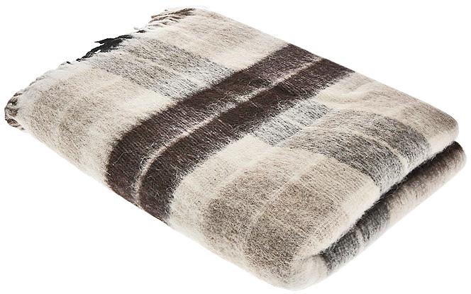 Плед Пиросмани, цвет: бежевый, темно-коричневый, 140 х 200 см. 1-206-140_031-206-140_03Мягкий и приятный плед Пиросмани изготовлен из 100% новозеландской овечьей шерсти. Плед добавит комнате уюта и согреет в прохладные дни. Такое теплое украшение может стать отличным подарком друзьям и близким! Под шерстяным пледом вам никогда не станет жарко или холодно, он помогает поддерживать постоянную температуру тела. Шерсть обладает прекрасной воздухопроницаемостью, она поглощает и нейтрализует вредные вещества и славится своими целебными свойствами. Плед из шерсти станет лучшим лекарством для людей, страдающих ревматизмом, радикулитом, головными и мышечными болями, сердечно-сосудистыми заболеваниями и нарушениями кровообращения. Шерсть не электризуется. Она прочна, износостойка, долговечна. Наконец, шерсть просто приятна на ощупь, ее мягкость и фактура вызывают потрясающие тактильные ощущения! Пиросмани - коллекция пледов с кистями, уменьшенной плотности из 100% натуральной новозеландской овечьей шерсти. Характеристики: Материал: 100%...