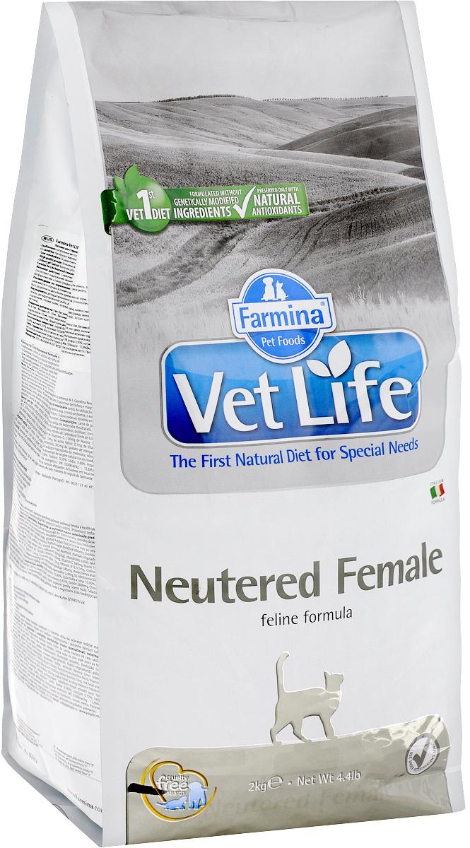 Корм сухой Farmina Vet Life для стерилизованных кошек, диетический, 2 кг22509Сухой корм Farmina Vet Life - это диетическое полнорационное и сбалансированное питание для взрослых кастрированных котов. Сниженная энергетическая плотность продукта ограничивает риск развития ожирения. Высокая биологическая ценность белков и L-карнитин способствуют поддержанию мышечной массы и использованию запасов жиров. Низкое содержание углеводов снижает вероятность развития диабета. Низкое содержание фосфора и магния, а также сульфат кальция снижают риск развития мочекаменной болезни. Товар сертифицирован.